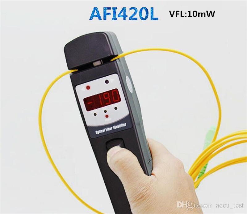 Optical Fiber Identifier Afi420l Built In 10mw Vfl Measure On Live ...
