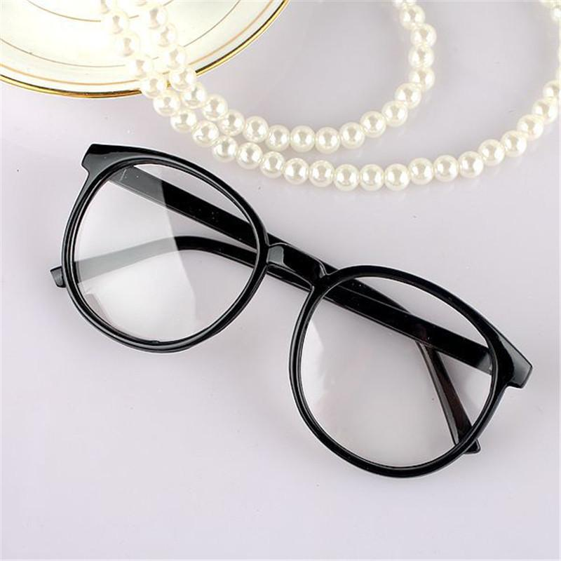 adef4c4773 2019 Vazrobe Glasses Men Women Vintage Round Eyeglasses With Clear Plain  Lens Decoration Fashion Eyewear Nerd Points From Hermane