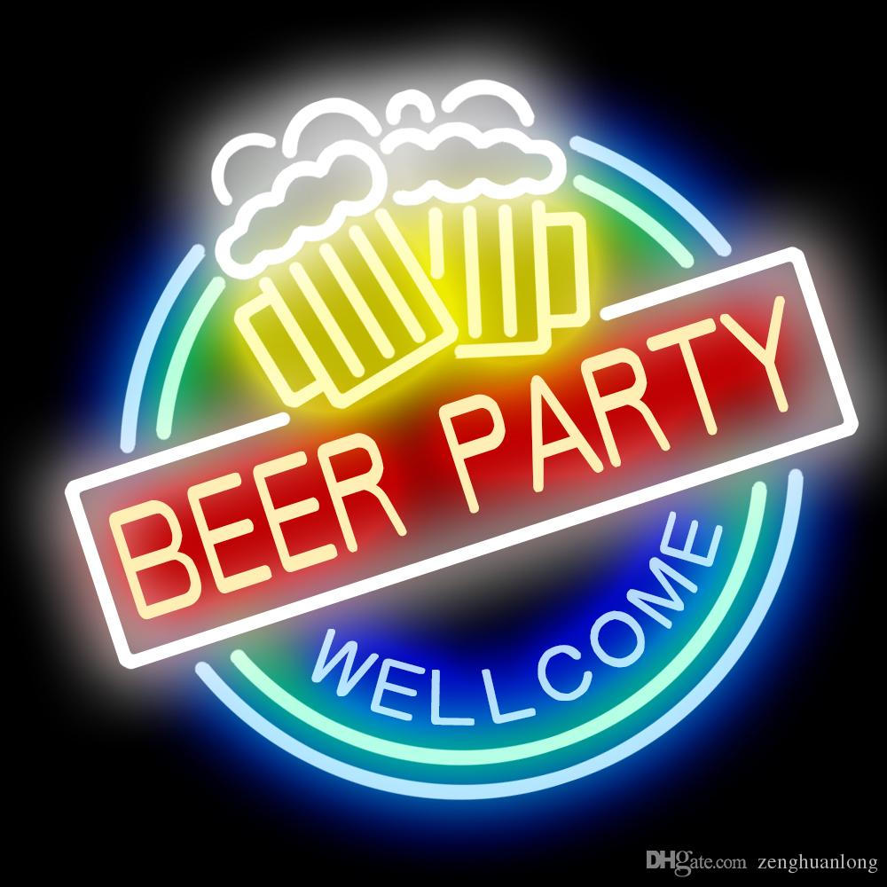 2020 Neon Signs Gift Beer Party Beer Bar Pub Store Party