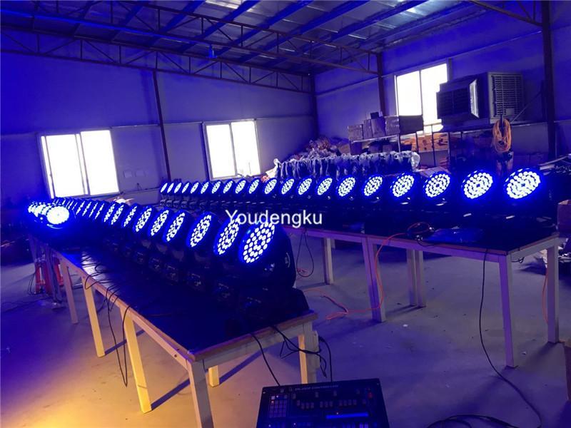 * 10W RGBW 4 in 1 LED beweglichem Kopf 36x10 führte bewegliches Licht des Kopfwäschezooms 360w
