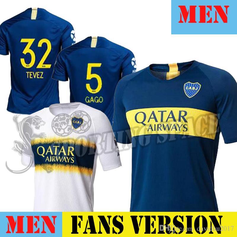 8be957cff Thailand 2018 2019 Boca Juniors Soccer Jerseys 18 19 GAGO CARLITOS ...