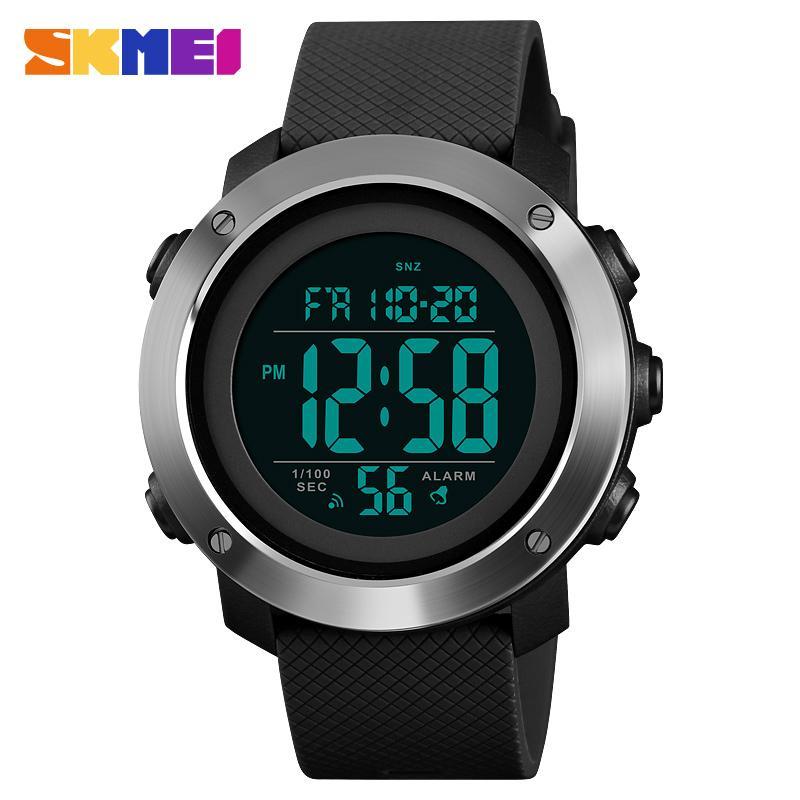 Compre SKMEI 1426 Relógio Esportivo Dos Homens Resistente À Prova D  Água  Relógio Digital Montre Relógio Relogio Masculino Homens Da Moda 1416 Saat  De ... 1773af10cea03