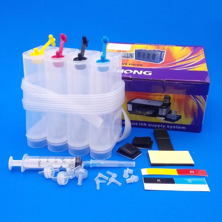 Universal CISS kit used for printer PIXMA MP230 240 250 260 270 280 282 480  etc with accessories