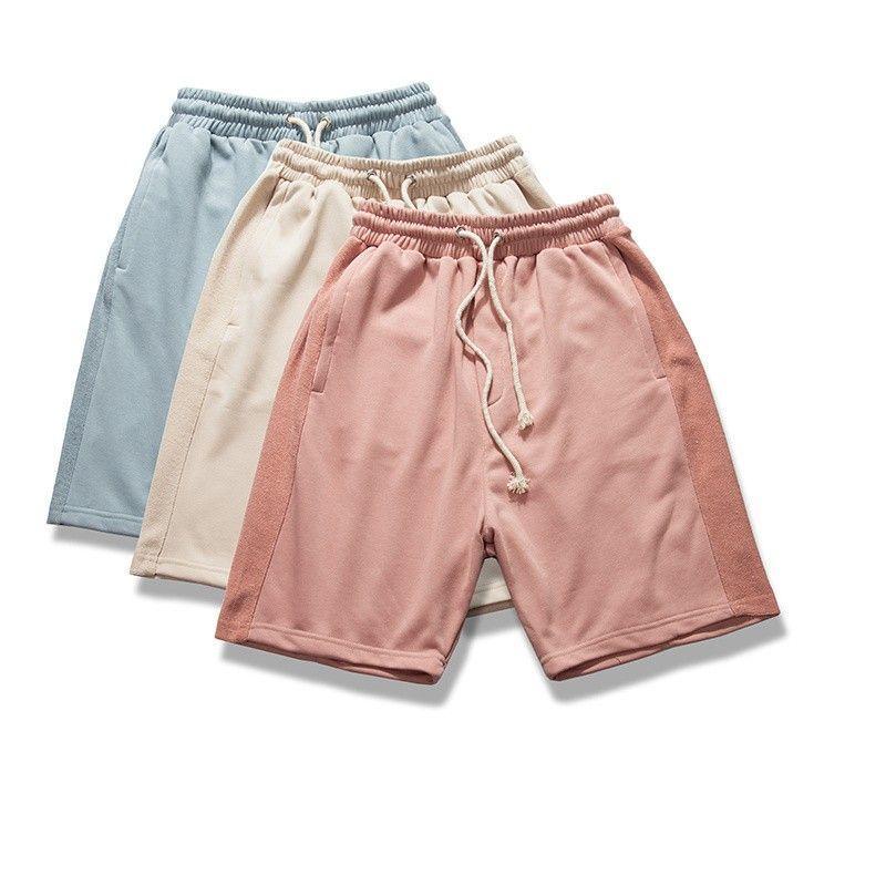 d15119555f 2019 Fashion Beach Summer Kanye West Short Pants Hip Hop High Waist Harem Sweat  Shorts Khaki M XL From Vintageclothing, $74.12 | DHgate.Com