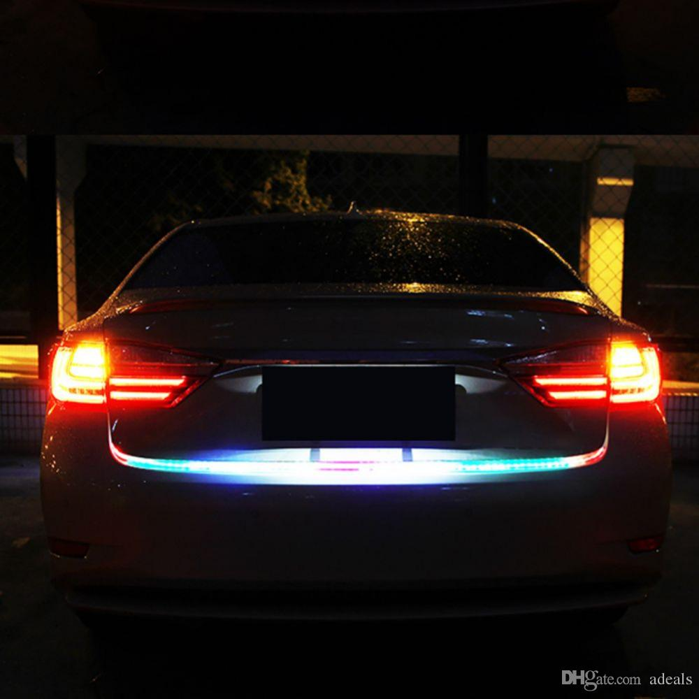 2018 auto rgb led flowing tail trunk strip light dynamic streamer 2018 auto rgb led flowing tail trunk strip light dynamic streamer turn signal drl brake light led bar ice lamp warning light strip from adeals aloadofball Choice Image