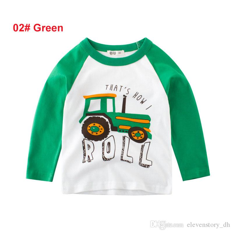 Compre Los Niños De 2 A 8 Años De Otoño Imprimen Camisetas, Los ...
