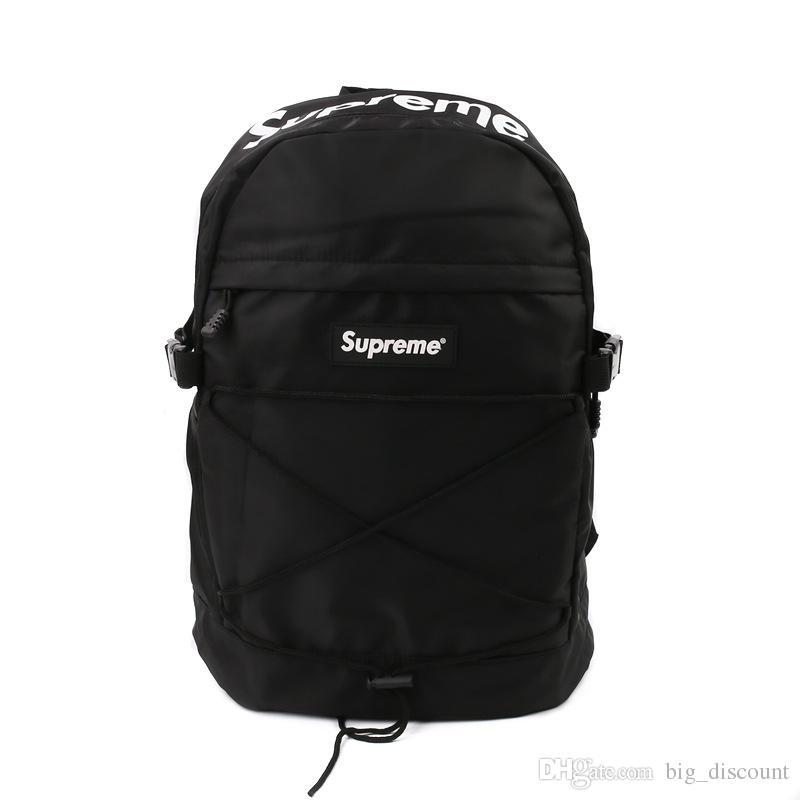 Compre Supreme Backpack Nike Sportbag Gucci Bag LV Bag2018 Suecia Marca  Adolescentes Mochilas Para Niña Impermeable Ackpack Bolsa De Viaje De Las  Mujeres De ... 2b99096e221