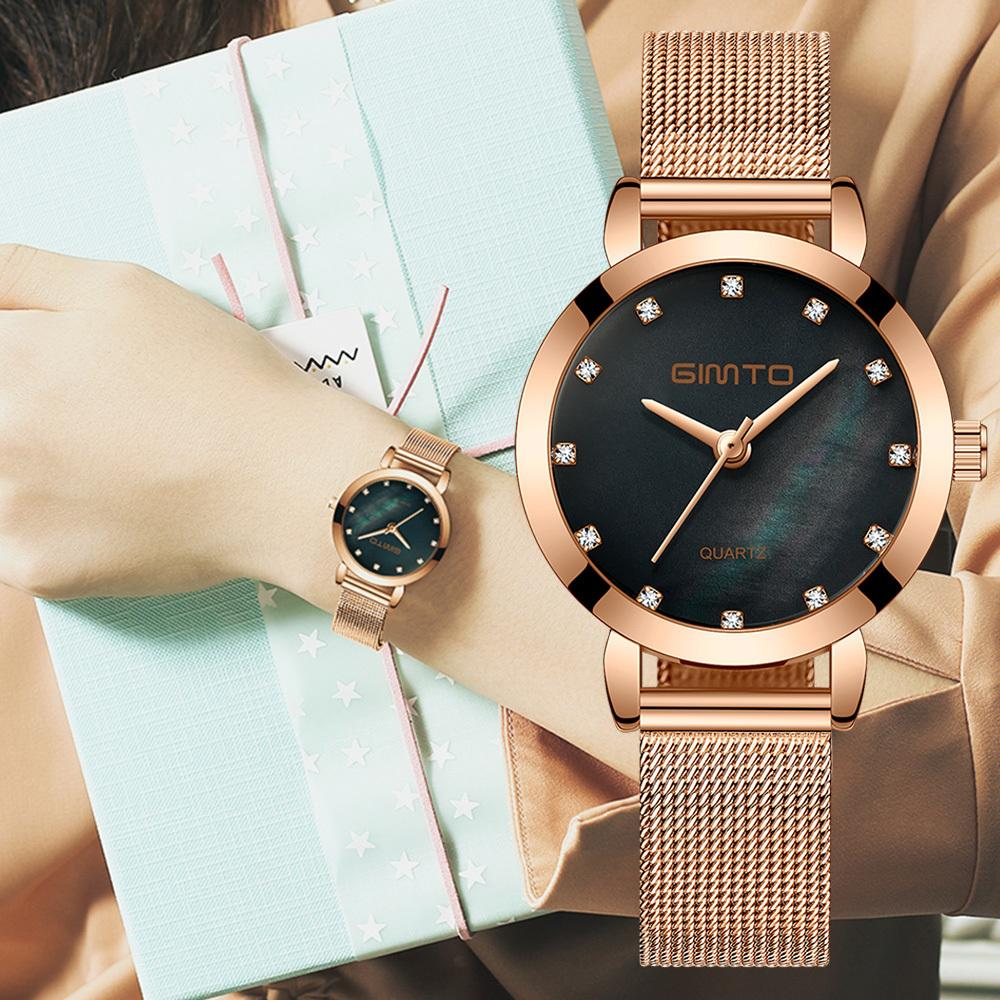 Men's Watches Just Women Watches Woman Quartz Dress Watches Ladies Bracelet Fashion Watch Delicate Leather Watches Steel Mesh Belt Wristwatches