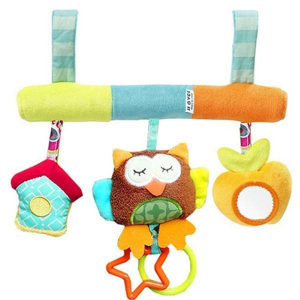 2018 Infant Baby Plush Adorable Animal Rattle Stroller Car Seat Hanging Toy Pram Crib Mobile Gift From Limerence667 1193