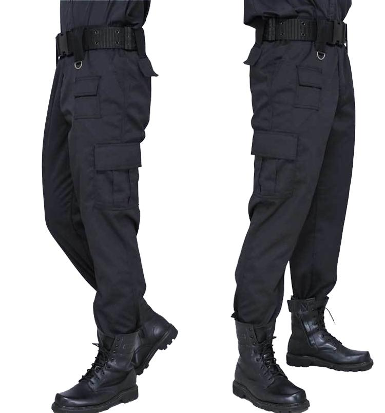 Cargo Pant Men Black Pants Military Style Casual Pantalones Thin Tactical Pants  Police Security Duty Work Trouser Army Overalls UK 2019 From Mingmusic002 974da1a2857