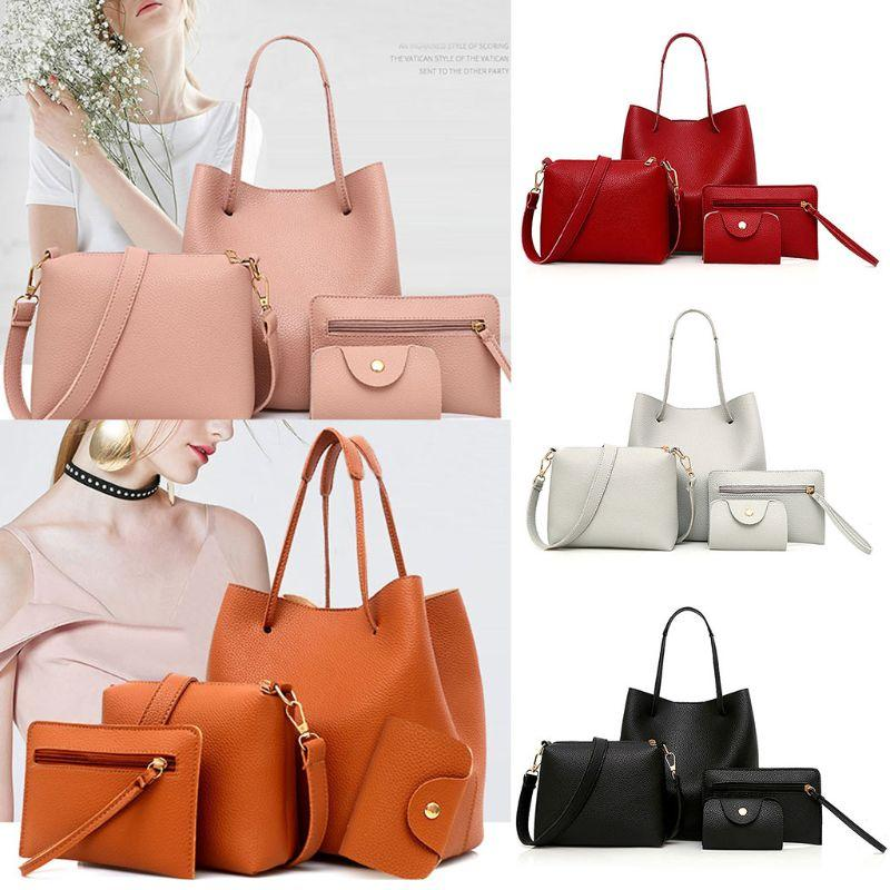 Fashion New Women Lady Leather Handbag Shoulder Bags Tote Purse ... 0dc4e1418f