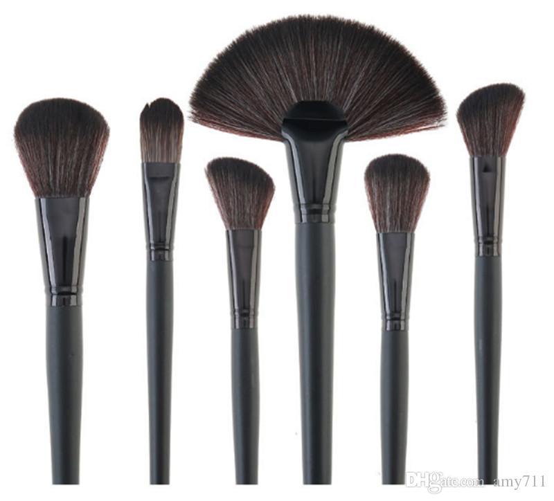 Nouveau Maquillage Pinceaux Outils De Maquillage Pinceau Professionnel définit Cheveux De Cheval Noir Haute Qualité expédition DHL + Cadeau