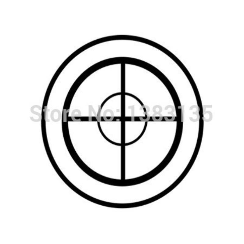 2019 Hotmeini Wholesale Fashion Sniper Target Silhouette Car Sticker
