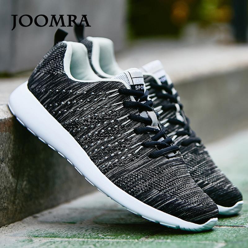 Compre Joomra Homens Sapatilhas Tênis Leves Tênis De Malha Respirável  Respirável Sapatos De Desporto Calçado Caminhada Calçados Esportivos De  Lazala b002f3cbce3b9