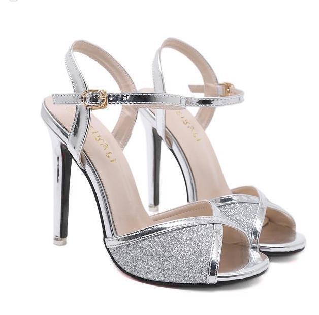 Acquista Scarpe Eleganti Da Donna Con Tacco A Spillo E Paillettes ... 16e98490272