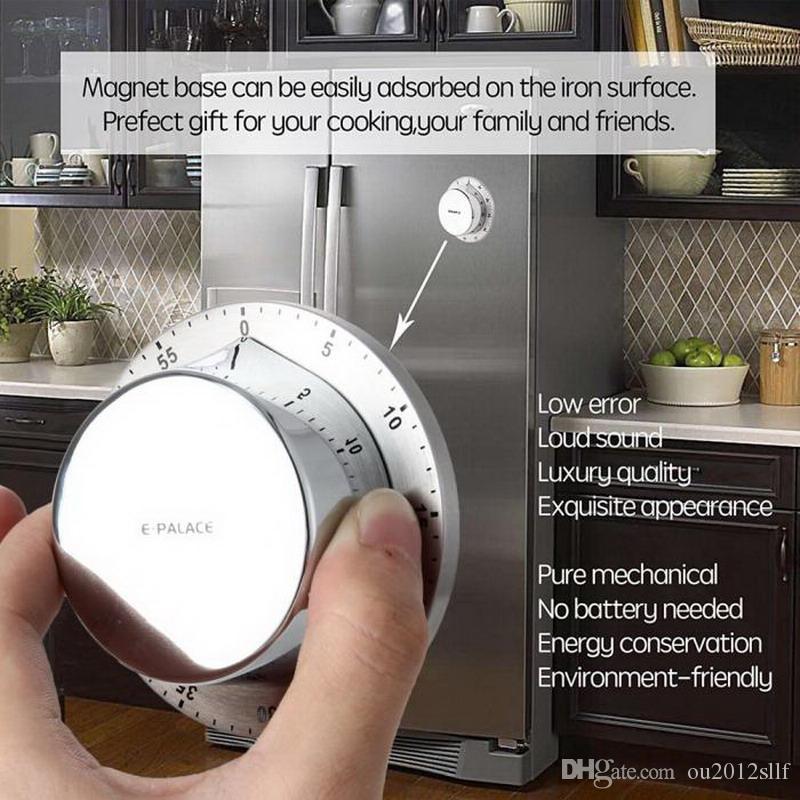 Кухонные Таймеры Магнит Творческое Напоминание Механический Обратный Отсчет Студент Милый Не Требуется Батарея Таймеры