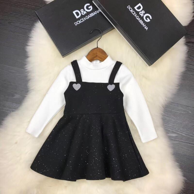 2019 2018 Girls Plus Velvet Dresses Cashmere Quilts Are Very Warm Black And  White From Kaiyi524 3acc7c0b5