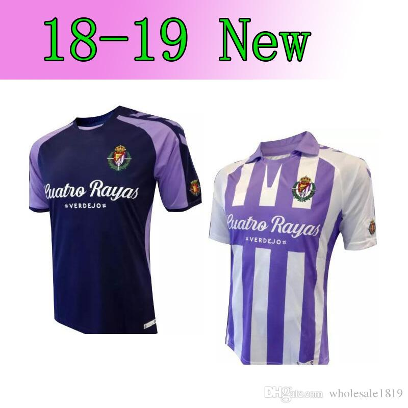 18 19 Valladolid Soccer Jerseys 2018 2019 HOME Away Real Valladolid ... 4a36d8884