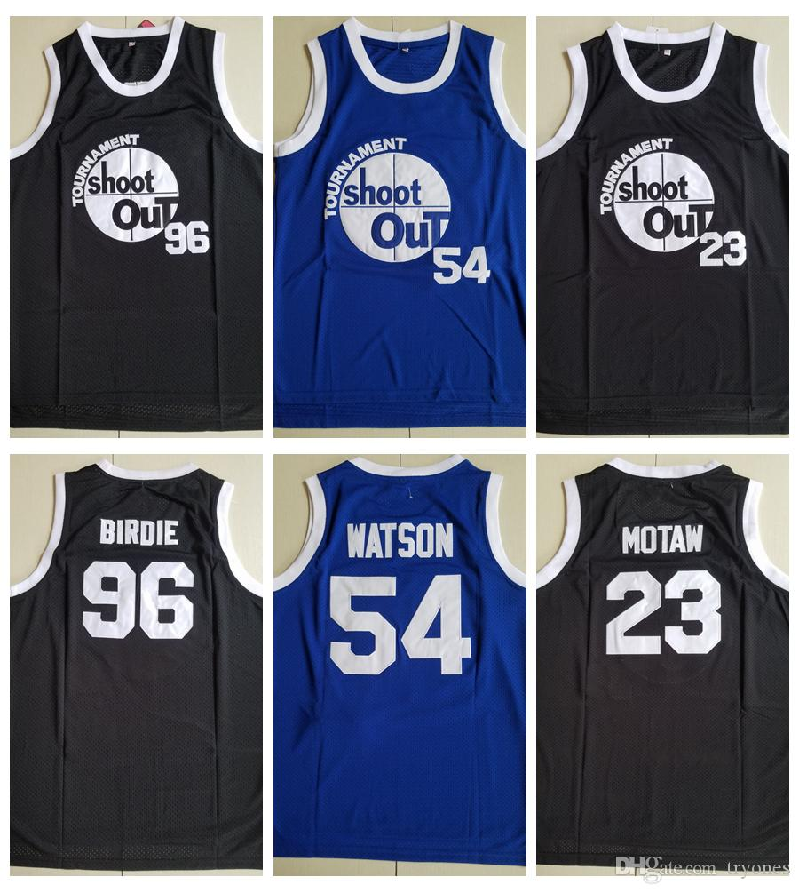 a9009503ec0 2019 Mens Tournament Shoot Out Birdmen 23 Motaw 96 Birdie 54 Kyle Watson  Basketball Jersey Cheap Above The Rim Moive Stitched Basketball Shirts From  Tryones ...