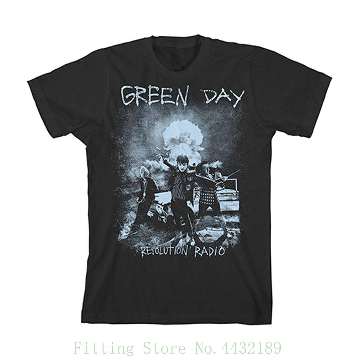 527ca4eda0d Authentic Green Day Nuke T Shirt S 2xl New Newest 2018 Fashion Stranger  Things T Shirt Men Online with  30.94 Piece on Aaa888tshirts s Store