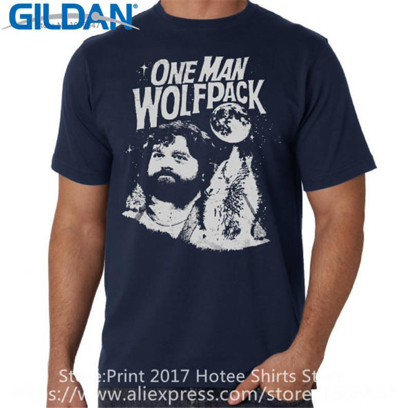 825761f0 Print Tees Funny Logo Christmas O Neck Short Sleeve Mens One Man Wolfpack T  Shirt Awesome T Shirts For Men T Shirts Shopping Online From Teecomeshirt,  ...