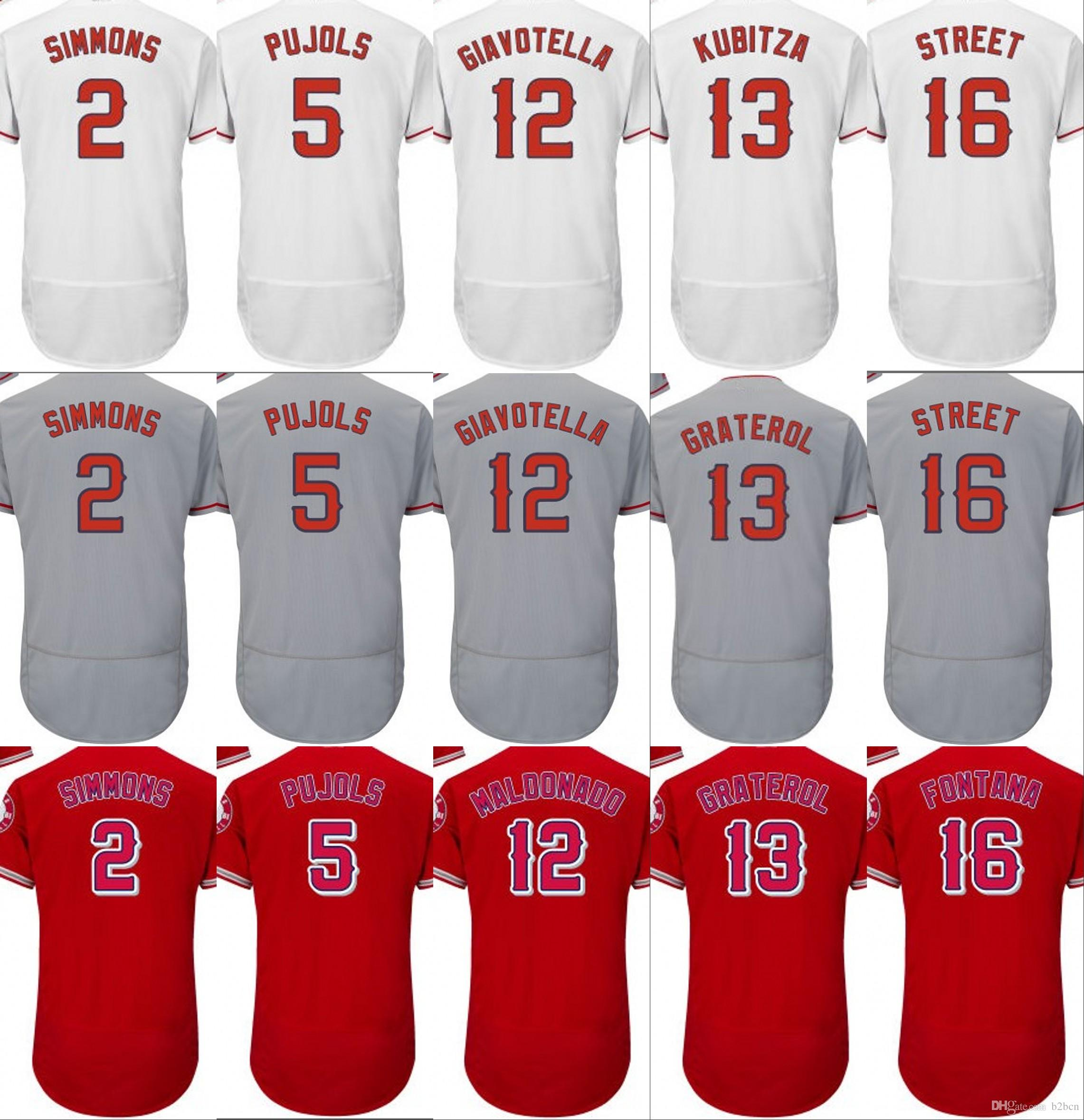a45d12f95 ... australia 2018 mens youth women los 2 zack cozart 16 huston street 5  albert pujols 12
