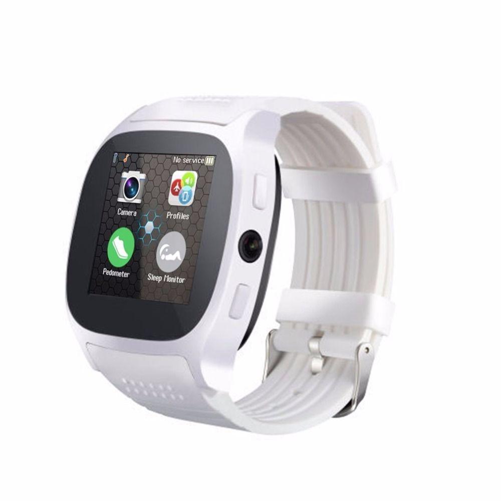 Digitale Uhren 2018 Neue Edelstahl Bluetooth Smart Uhr Frauen Männer Sport Wasserdichte Smartwatch Led Farbe Touch Screen Uhr Unterstützung Sim Tf Uhren