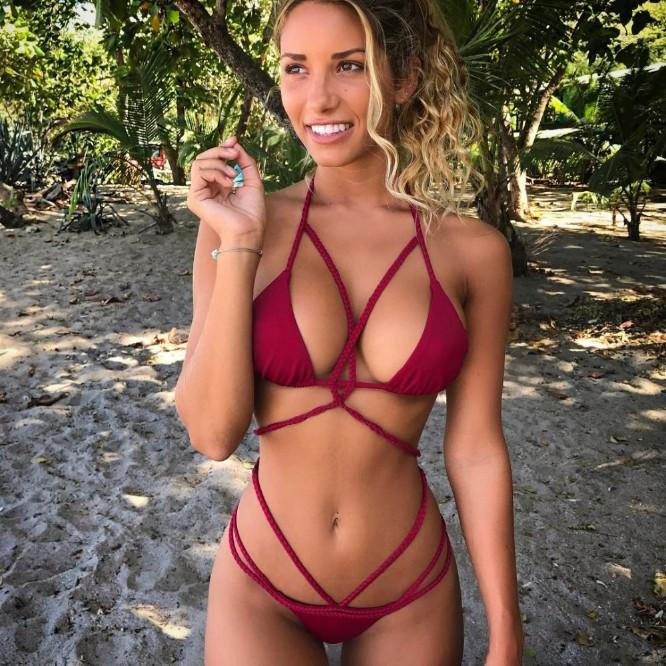 Acquista Bikini Sexy Fatti A Mano Alluncinetto Push Up Bikini