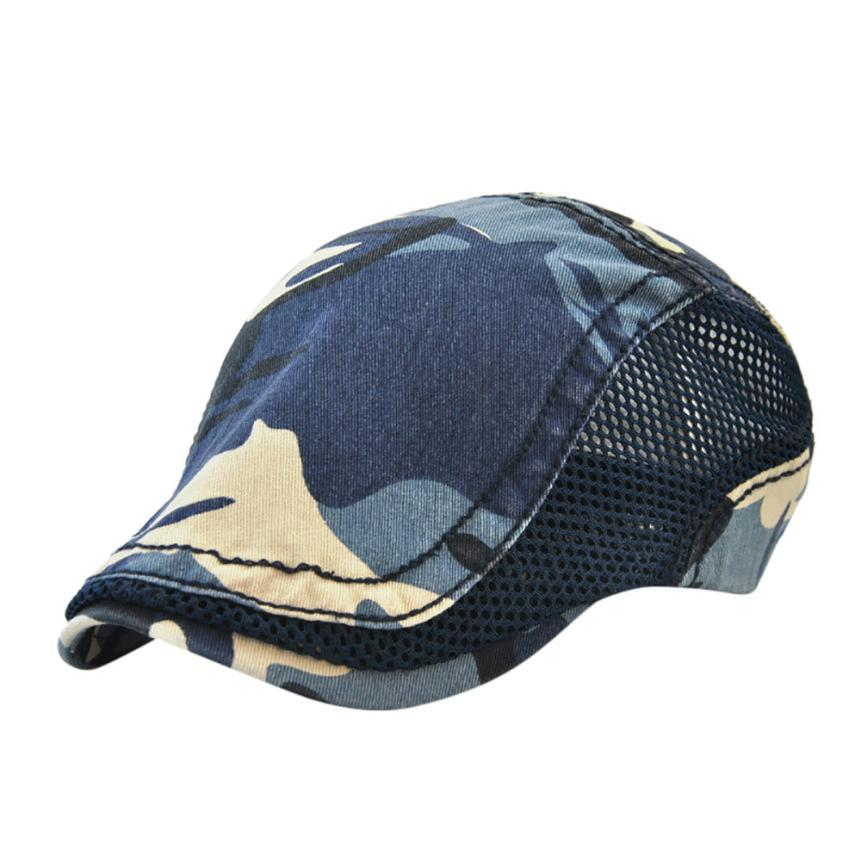 Großhandel Männer Frauen Camouflage Network Cap Hüte Casual Hut Hip ...