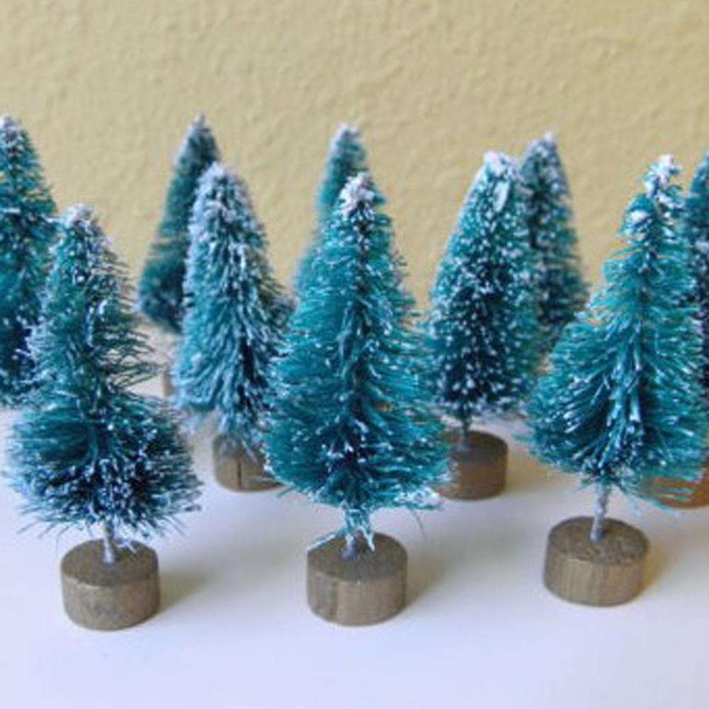 pack hot sale christmas trees small pine tree placed in the desktop mini christmas decoration for home xmas home decoration for christmas home decorations