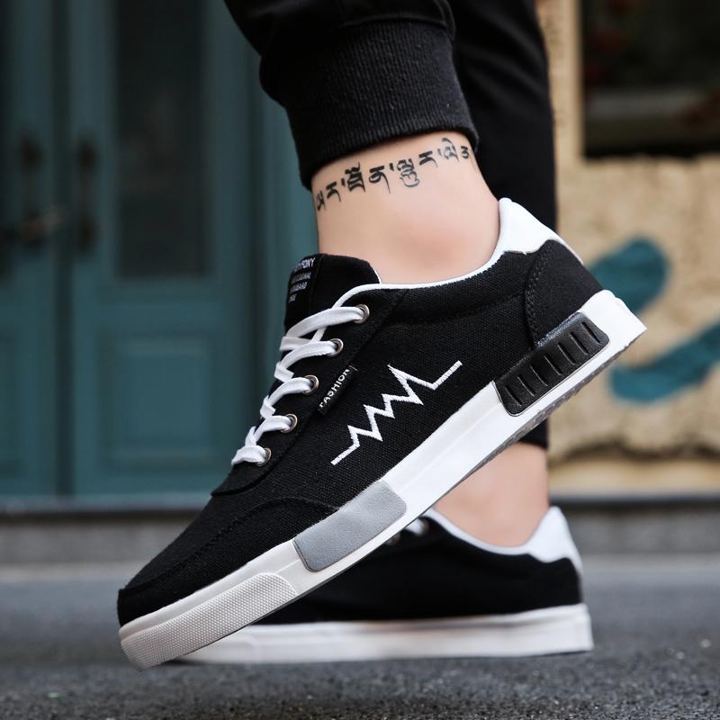 Mexemina 2018 Mode Männer Leinwand Schuhe Atmungs Klassische Männer Casual Schuhe Low Top Anti Slip Casual Schuhe Schuhe