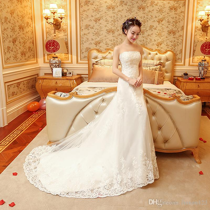 Bridal Dress 2018 New Brides Get Married Korean Version Of The ...