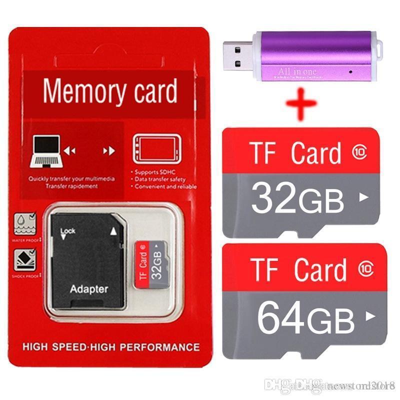 Großhandel Neue Tf Karte 128 Gb 64 Gb Micro Sd Karte Kategorie 10