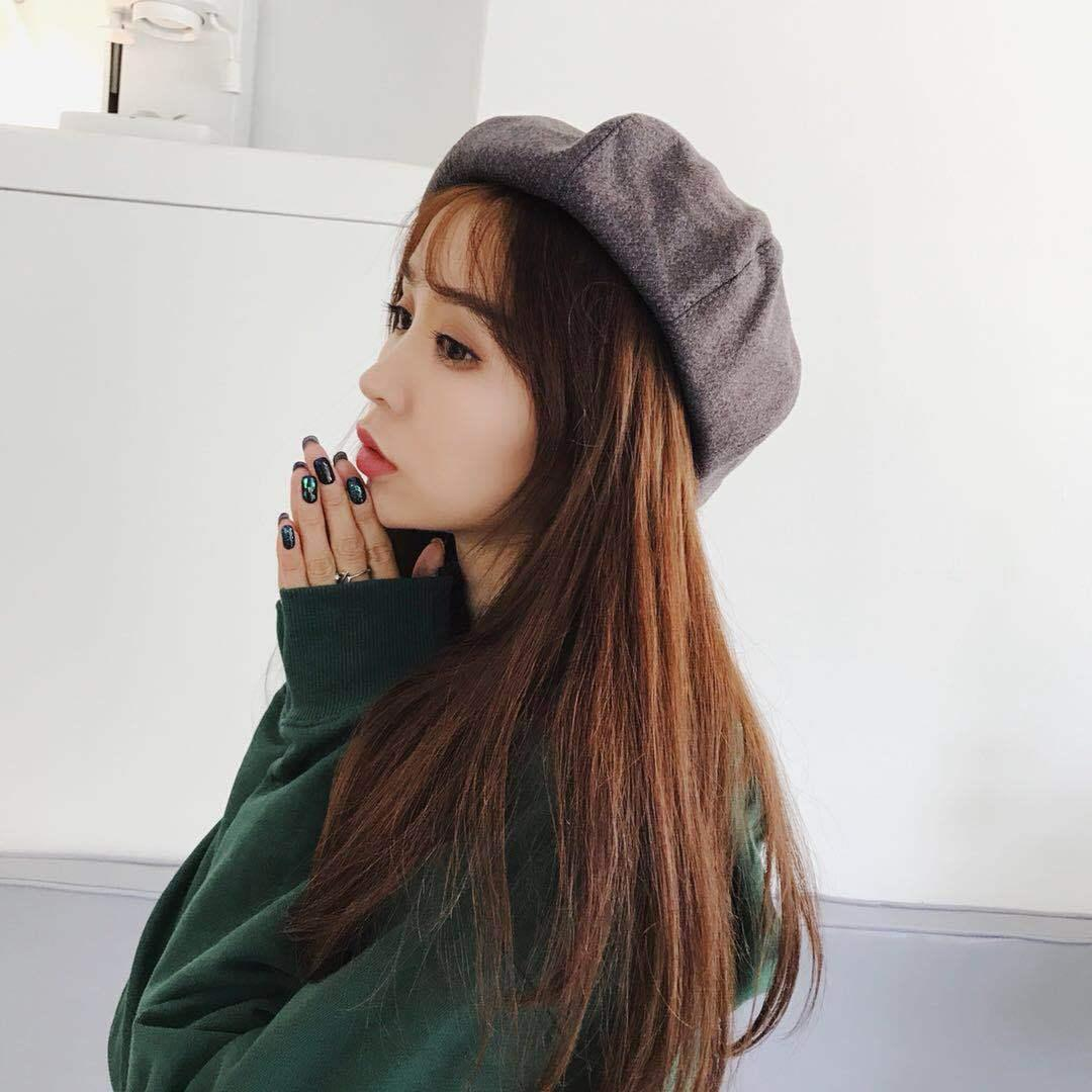 4700870d290d13 Winter Hat Berets 2018 New Wool Cashmere Womens Warm Brand Casual High  Quality Women's Vogue Knitted Hats For Girls Cap