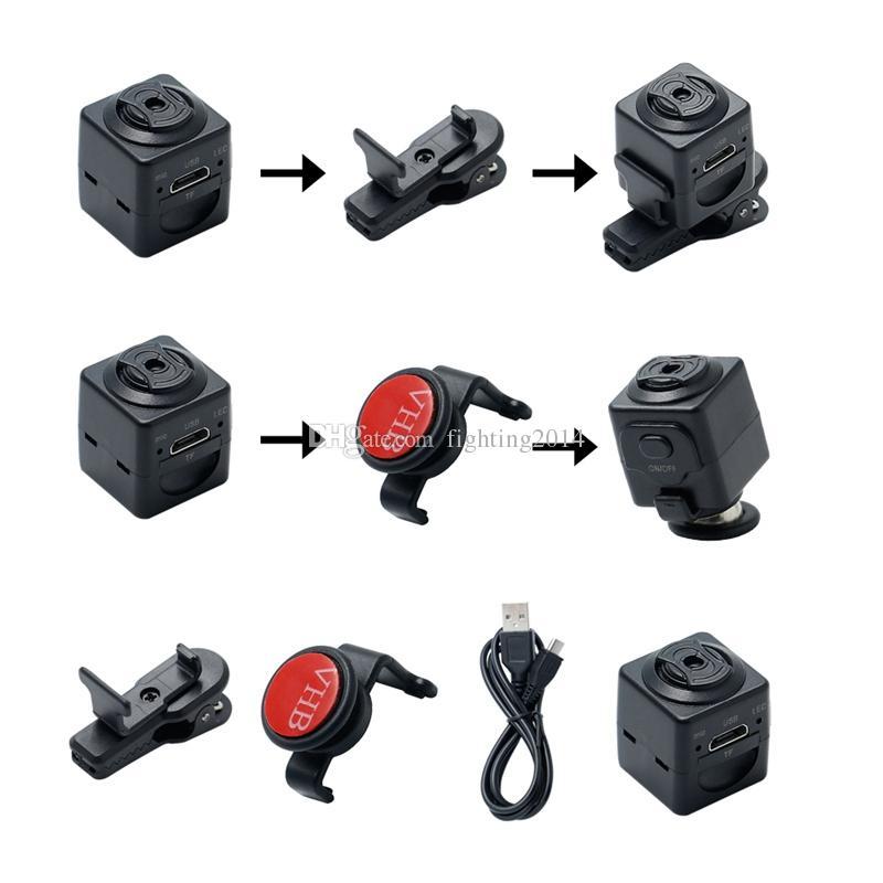 S5 Full HD 960P Micro cámara Portátil Detección de movimiento DV DVR Digital Voice Video Recorder videocámara Deporte Cámaras deportivas con TF Tarjeta Slot