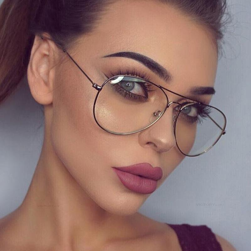 807839fd5fa 2019 2018 Spectacle Frame Cat Eye Glasses Frame Clear Lens Women Brand Eyewear  Optical Frames Myopia Nerd Eyeglasses From Ancient88