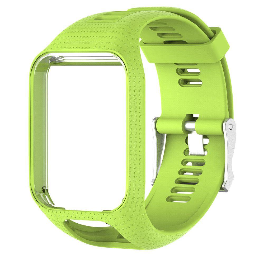 Cleveres Zubehör Fein Ersatz Armband Für Tomtom 2 3 Runner Serie Silikon Gürtel Sport Gps Smart Uhr Armband Silikon Handgelenk Armband Armband