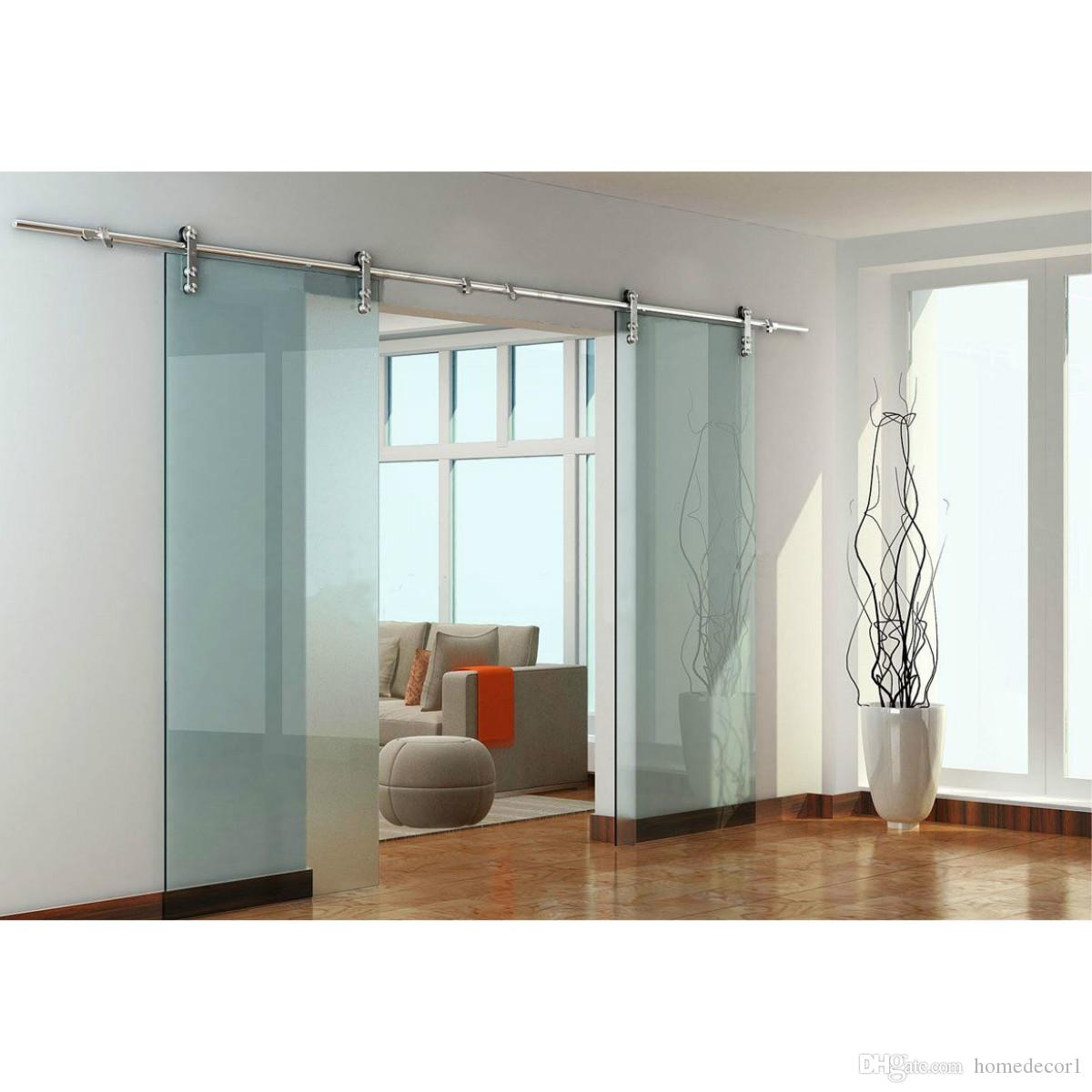 2018 Usa 8ft 16ft Modern European Stainless Steel Double Glass