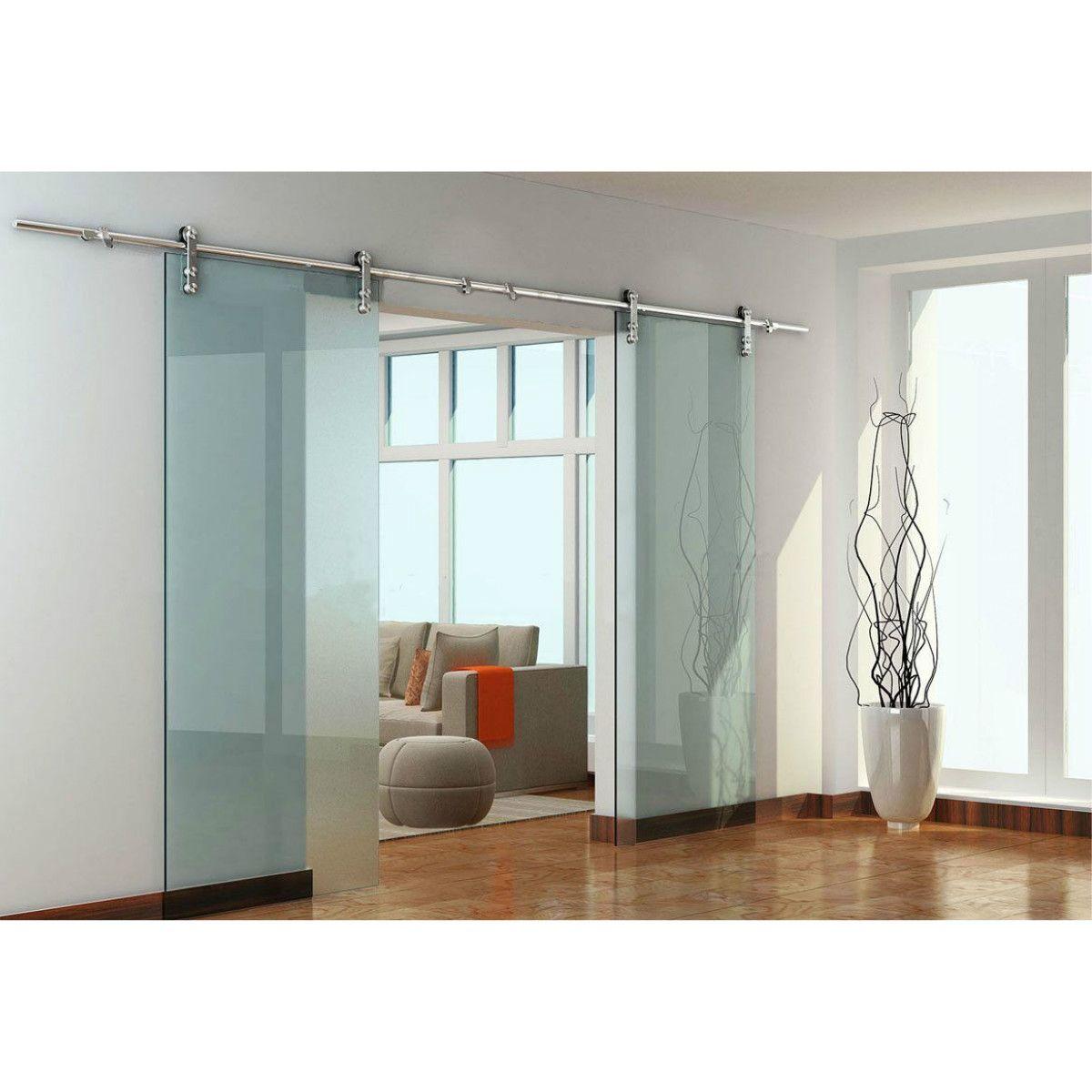 Usa 8ft 16ft Modern European Stainless Steel Double Glass Sliding