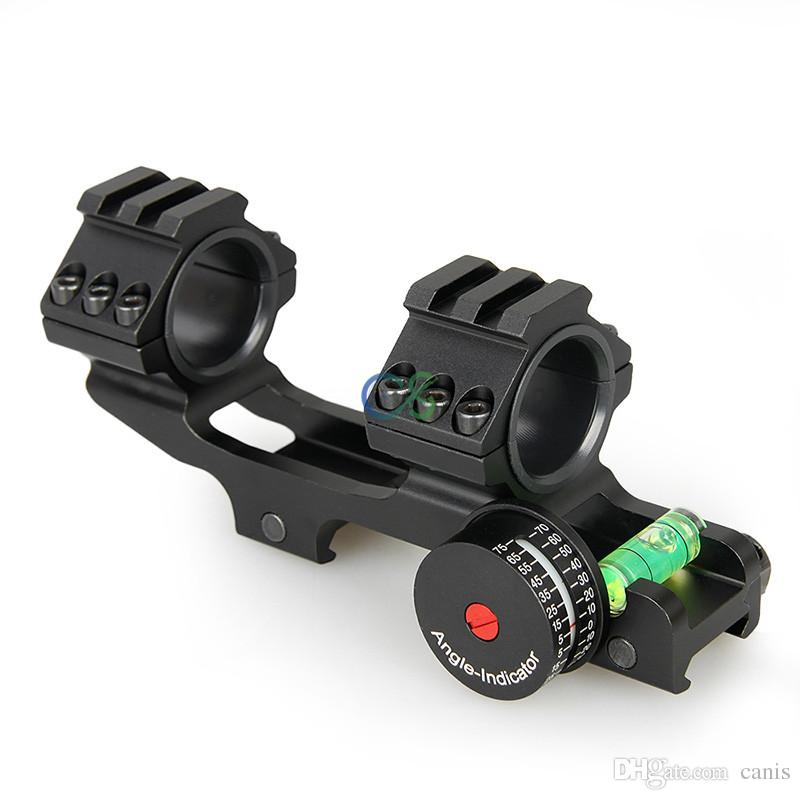 New Arrival Rifle Scopes Mount Double Ring fits 21.2mm Rail with 21.2mm Rail Black Color CL24-0185