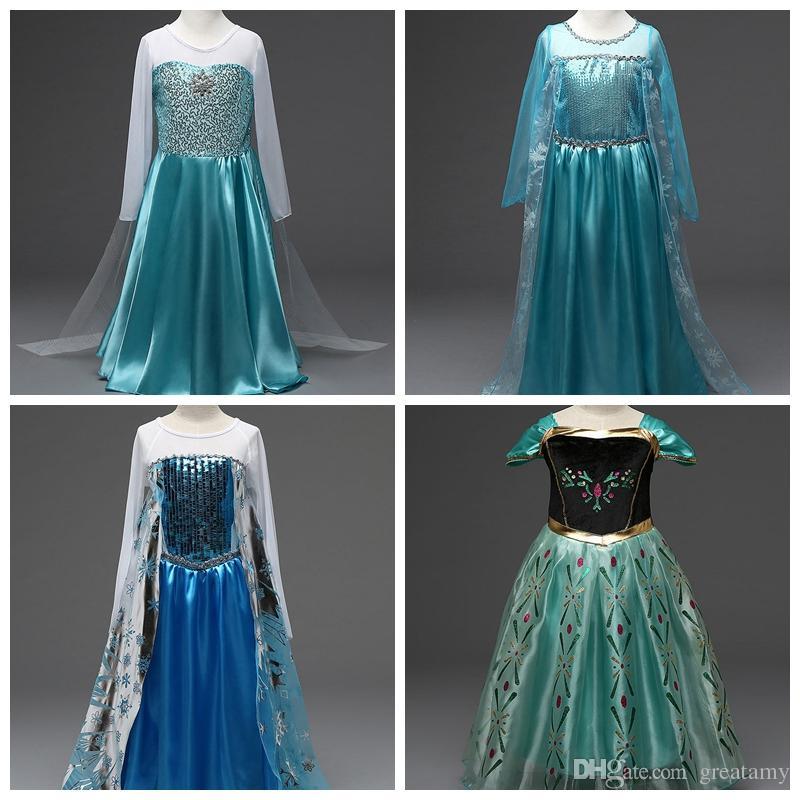 2018 Dhl 5 Different Styles Baby Girls Costum Skirts Children Girl ...