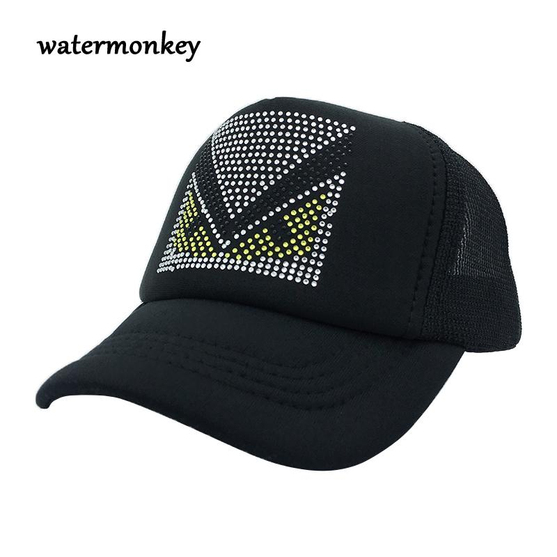 2ca5a098 Cute Children Baseball Caps Baby Girls Sun Visor Hats Boys Snapback  Casquette Gorras Cartoon Duck Kids Summer Monster Mesh Cap Richardson Hats  Headwear From ...