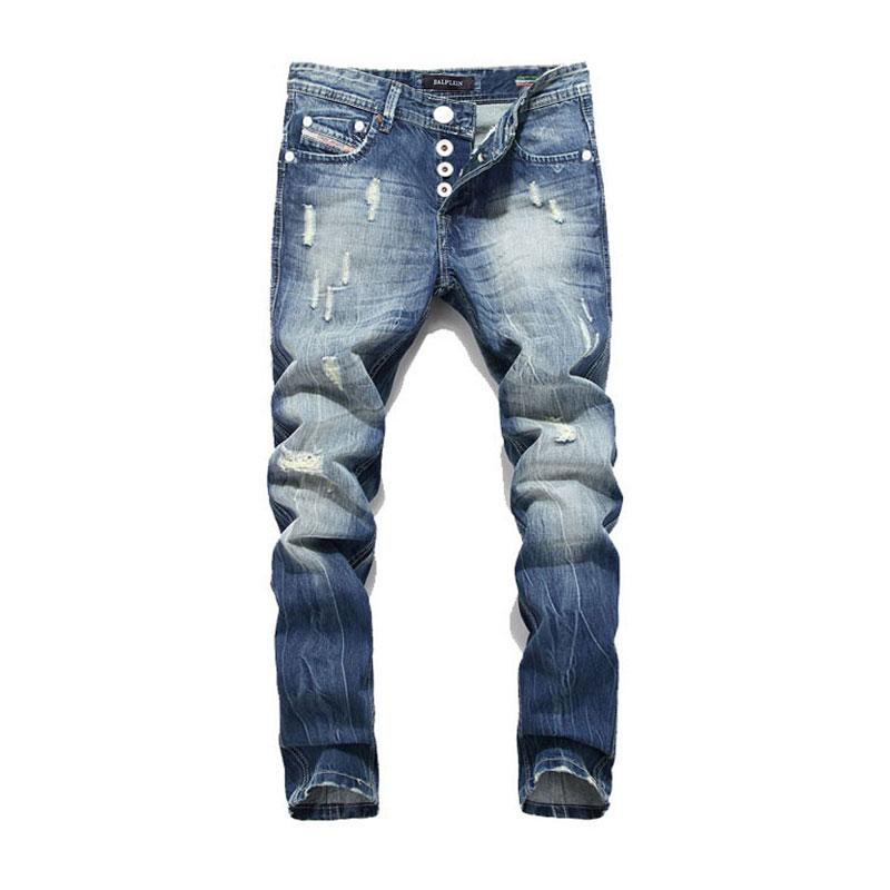 f9e96e8cdc623 2019 Fashion Balplein Brand Men Jeans Washed Printed Jeans For Men Casual  Pants Italian Designer Jeans Men From Clothingcart
