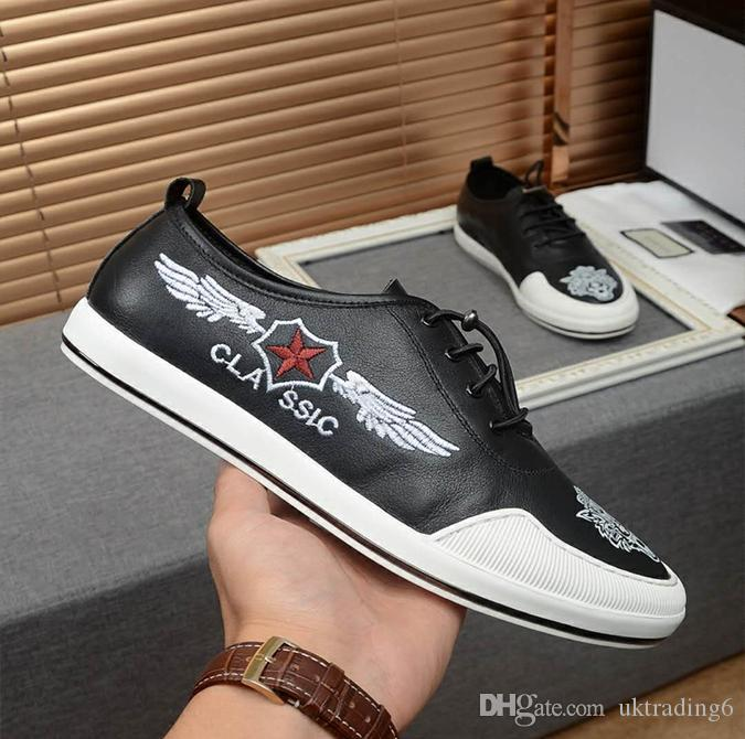b2618372673 Official Website Synchronization Mens Shoes Counter Quality Uppers ...