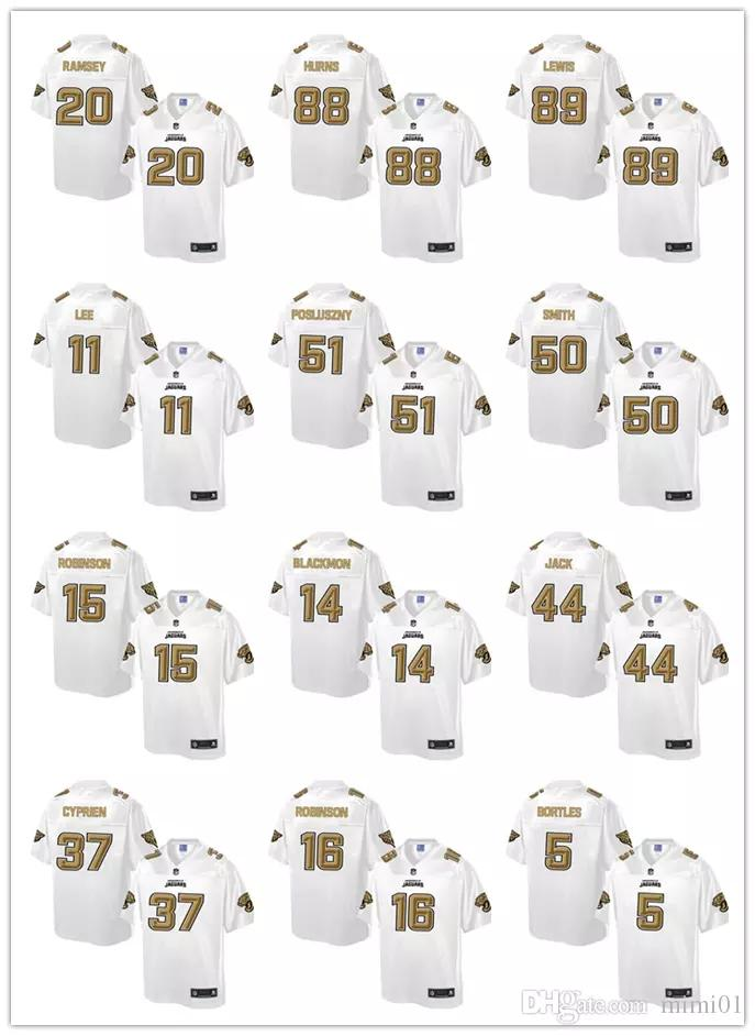7094d92fa 2018 New 27 Leonard Fournette 20 Jalen Ramsey Jacksonville Jaguars Jersey 5  Blake Bortles Jerseys Men s 15 Allen Robinson 27 Leonard Fournette Jerseys  20 ...