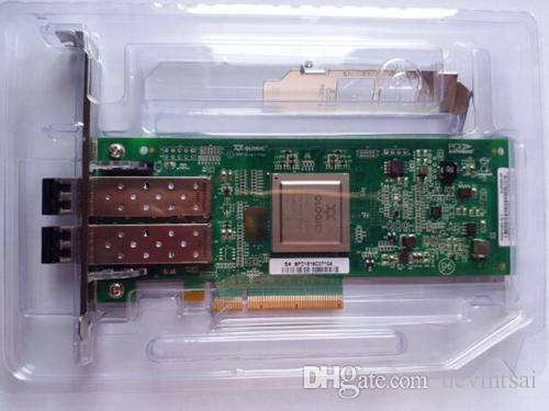 Para HP AJ764 QLE2562-HP 489191-001 8G DUAL PORT Cartão HBA com o módulo SFP