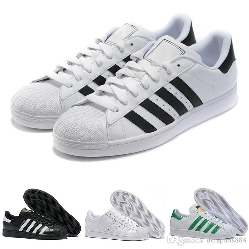 sports shoes 93b53 1ee05 Acheter Superstar Original Blanc Hologramme Iridescent Adidas Superstar 80s  Junior Or Superstars Baskets Originales Super Star Femmes Hommes Chaussures  ...