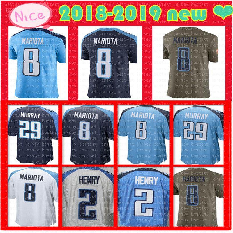ecc0c434 ... get 2018 new mens tennessee titan 8 marcus mariota jersey 29 demarco  murray home jersey mariota