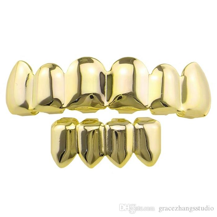 Dont Have Gold Plated Health Plan Why >> 2019 Hip Hop Smooth Grillz Real Gold Plated Dental Grills Rappers