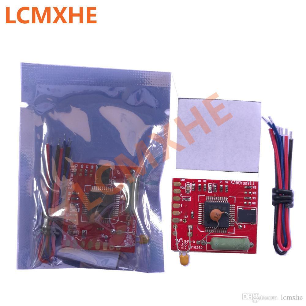 X360run glitcher RGH chip with 96MHz Oscillator Crystal for xbox 360  xbox360 X360 RUN V1 0 RED pcb